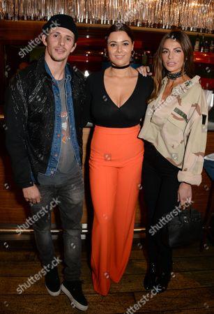 Jake Hall, Hannah Young and Misse Beqiri