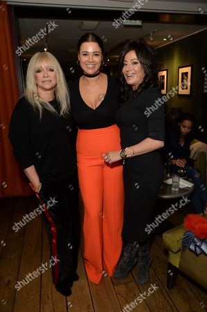 Jo Wood, Hannah Young and Nancy Dell'Olio