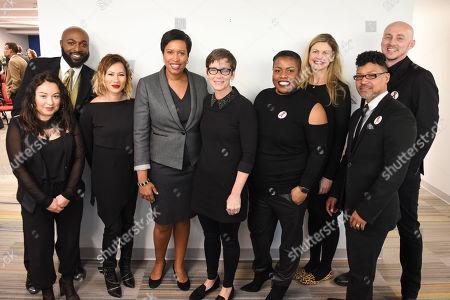 Editorial photo of MAC AIDS Fund / DC Announcement, Washington, USA - 01 Dec 2016