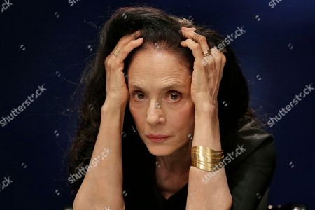 "This photo shows Brazilian actress Sonia Braga during an interview about her new film, ""Aquarius,"" in New York. Braga plays a widow and retired music critic reluctant to sell the seaside apartment that holds her most cherished memories"