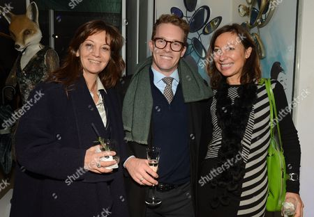 Daniella Zulli, Andy Buchanan and Sally Storey