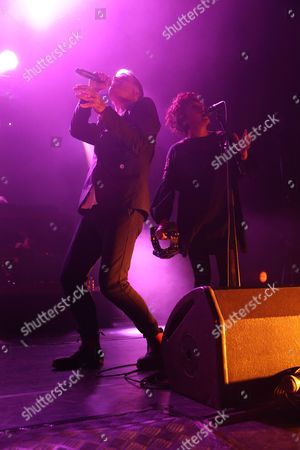 Stock Photo of Deacon Blue - Ricky Ross and Lorraine McIntosh