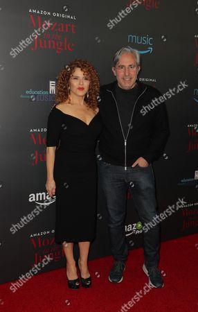 Bernadette Peters and Paul Weitz