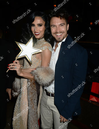 Stock Image of Lilly Ghalichi and Gus Carr