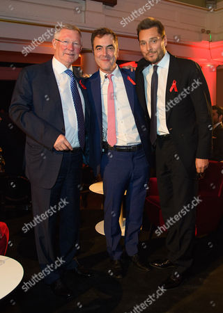 Sir Alex Ferguson, James Nesbitt, Seb Bishop
