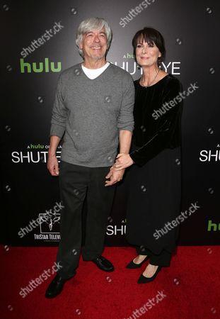 Mel Harris and Bob Brush