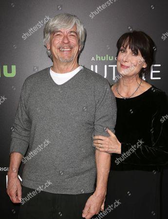 Stock Image of Mel Harris and Bob Brush