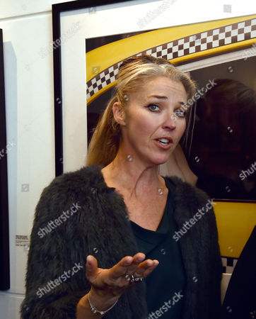 03 11 15 'The Best of Patrick Lichfield' Private View at the Little Black Galley Park Walk Fulham Tamara Beckwith