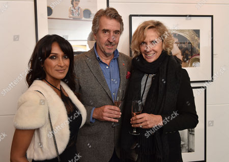03 11 15 'The Best of Patrick Lichfield' Private View at the Little Black Galley Park Walk Fulham Jackie St Clair (l)