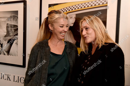 03 11 15 'The Best of Patrick Lichfield' Private View at the Little Black Galley Park Walk Fulham Tamara Beckwith & Lady Rosie Anson