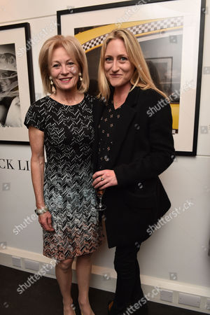 03 11 15 'The Best of Patrick Lichfield' Private View at the Little Black Galley Park Walk Fulham Lady Annunziata Asquith and Lady Rosie Anson