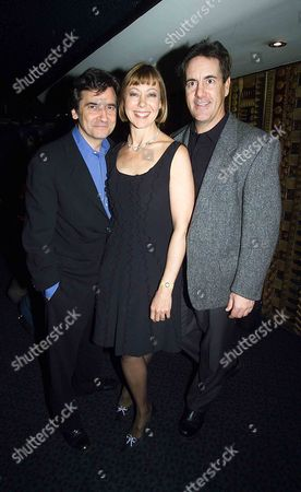 21st Anniverary of Release of Amerian Werewolf in London Celebrated with A Cele Sreening at the Curzon Cinama Mayfair Pixs Show Jenny Aggutter Griffin Dunne(left) and David Naughton the Co Stars of the Film at the Screening Tonite