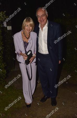 21 06 16 Ladyannabel Goldsmith's Summer Party at Ormeley Lodge Ham Gate Ave Richmond Park Twickenham Michael and Sandra Howard