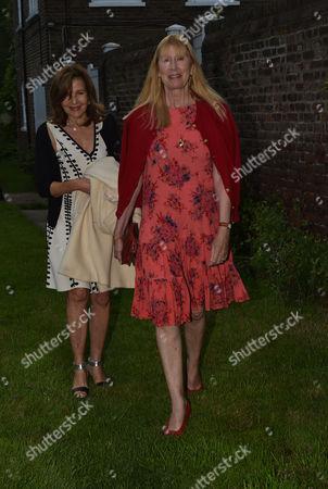 21 06 16 Ladyannabel Goldsmith's Summer Party at Ormeley Lodge Ham Gate Ave Richmond Park Twickenham Lady Carina Frost and Joyce Reuben
