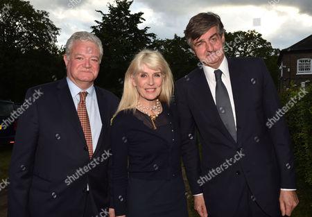 21 06 16 Ladyannabel Goldsmith's Summer Party at Ormeley Lodge Ham Gate Ave Richmond Park Twickenham Gavin Rankin Selina Scott & Robin Birley