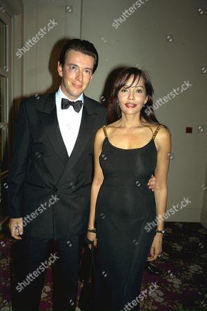 Bafta 1996 Barbara Carrera & Friend