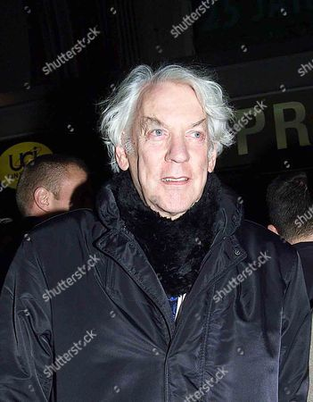 Berlin Film Festival Donald Sutherland & Rosamund Kwan in Berlin For 'Big Shots Funeral' Arrive at the Zoo Palast For the Screening