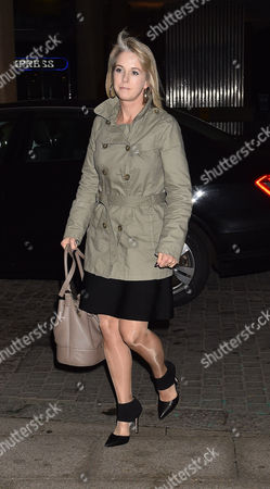 Stock Picture of 19 10 15 'Call Me Dave' at Arrivals at Altitude 360 Millbank Tower Westminster For Lord Michael Ashcroft's Book Launch Isabel Oakeshott