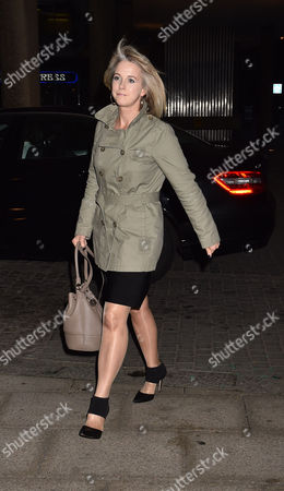 Stock Image of 19 10 15 'Call Me Dave' at Arrivals at Altitude 360 Millbank Tower Westminster For Lord Michael Ashcroft's Book Launch Isabel Oakeshott