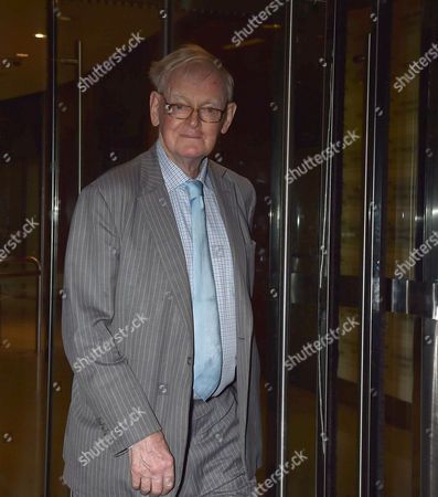 19 10 15 'Call Me Dave' at Arrivals at Altitude 360 Millbank Tower Westminster For Lord Michael Ashcroft's Book Launch Stuart Wheeler