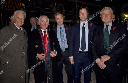03 11 15 Charles Kennedy London Memorial Service at St George's Cathedral David Owen David Steele Tim Farron Nick Clegg and Paddy Ashdown