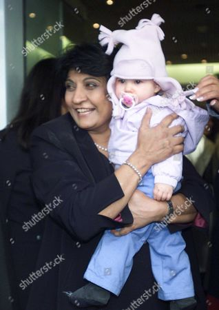 Cheri Blair Today Opened Bharti Vyas Center in Central London Also at the Event Were Lady Helen Windsor Julia Carling with Baby Honour Cheri is Seen Arriving Opening the Centre and with Bharti Vyas During the Opening Speeches Martha Fiennes & Baby Britt Ekland Moira Stewart