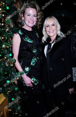 15 12 15 David Morris and Agent Provocateur Cocktail Party at Annabel's Berkeley Square Mayfair Erin Morris and Her Mother in Law Susette Morris