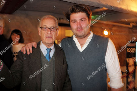 27 07 15 Death of A Gentleman Film Premiere at Picture House Central Shaftesbury Ave Piccadilly London John Standing with His Son Archie