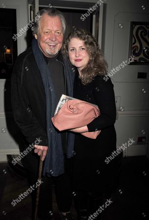 16 11 15 Derren Brown's Miracle Gala Night After Party at Kettner's Romilly Street Soho David Soul with is Wife Helen Snell