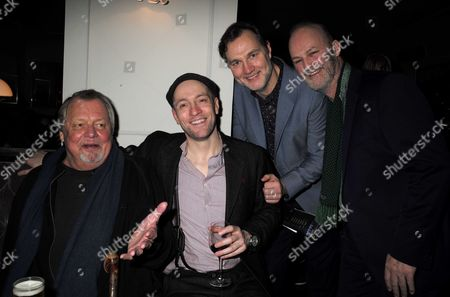 16 11 15 Derren Brown's Miracle Gala Night After Party at Kettner's Romilly Street Soho David Soul Derren Brown David Morrissey & Tim Mcinnery