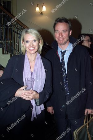 First Night of 'A Midsummer's Night Dream' at the Albery Theatre with the Aftershow Party at Browns St Martins Lane Anneka Rice and Simon Bell