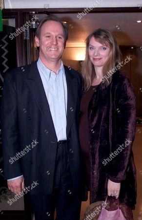 First Night Party For 'Ghosts' Which Opened at the Comedy Theatre Peter Davison and Elizabeth Morton