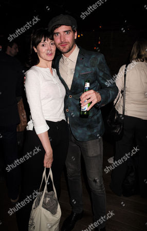 Stock Photo of 27 08 15 Frightfest Opening Party at Century Club Shaftesbury Ave Westminster London Fiona O' Shaughnessy with Co-star Cian Barry Their Film is 'Rob'