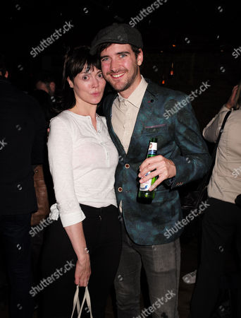 27 08 15 Frightfest Opening Party at Century Club Shaftesbury Ave Westminster London Fiona O' Shaughnessy with Co-star Cian Barry Their Film is 'Rob'