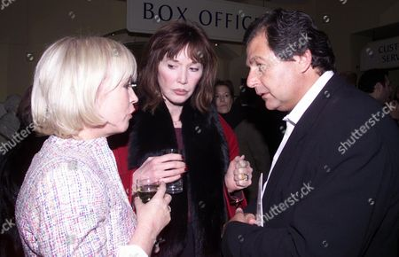 Gala Evening at the Old Vic For 'Life X3' Sally Green Ed Victor's Wife and Robert Bourne
