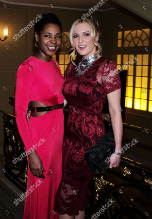19 01 16 Global Citizen Gala Dinner at Hotel Cafe Royal Regent Street London Sonique with Emma Noble