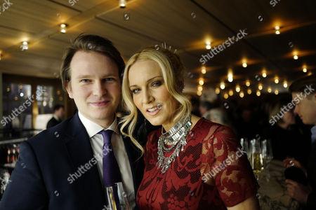 19 01 16 Global Citizen Gala Dinner at Hotel Cafe Royal Regent Street London Conrad Baker and Emma Noble