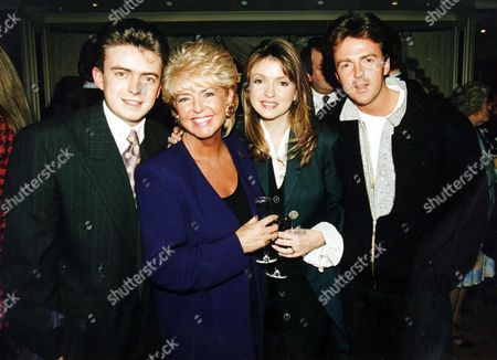 Gloria Hunniford with Her Children (from Left) Michael Keating Caron Keating (died April 2004) and Paul Keating