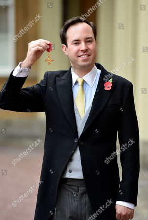 Editorial photo of Investiture at Buckingham Palace