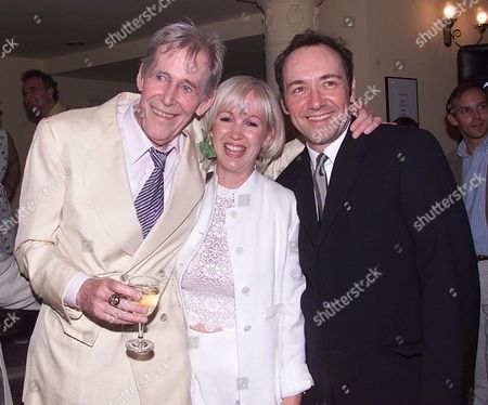 Ist Night of 'Jeffrey Bernard in Unwell' at the Old Vic Peter O'toole with Sally Green & Kevin Spacey