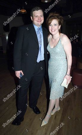 Ist Night of 'The Full Monty' at the Prince of Wales Theatre and the Party at Cc Club Conventry Street Cast Member John Ellison Conlee with His Girlfriend Liz Mcconahay