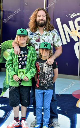19 07 15 'Inside Out' Film Gala Film Screening at the Odeon Leicester Square London Justin Lee Collins