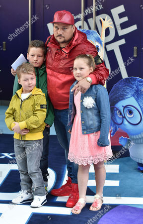 19 07 15 'Inside Out' Film Gala Film Screening at the Odeon Leicester Square London Charlie Sloth