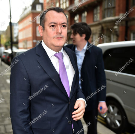 05 01 16 Labour Shadow Cabinet Re-shuffle at 4 Millbank Labour Ex- Shadow Cabinet Member Michael Dugher Arrives at Millbank Tv Studios For Bbc & Itn Interview