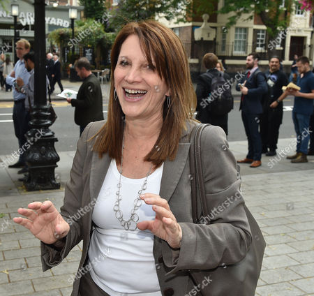 16 07 15 the Winner of the Liberal Democrat Leadership Contest at Islington Assembly Hall Lynne Featherstone