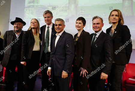 03 02 16 London Mayoral Election Debate at the the Royal Geographical Society Zac Goldsmith Sadiq Khan Caroline Pidgeon Sian Berry Peter Whittle George Galloway & Sophie Walker