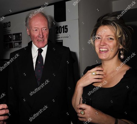 02 11 15 Launch Party For Charles Moore's New Book ' Margaret Thatcher the Authorised Biography Volume Two: ' at M&c Saatchi Golden Square Soho Algy Cluff and Petronella Wyatt
