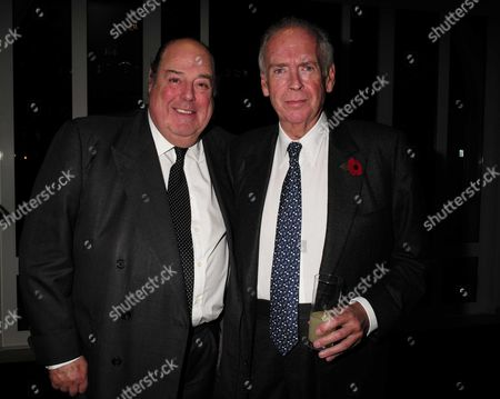 02 11 15 Launch Party For Charles Moore's New Book ' Margaret Thatcher the Authorised Biography Volume Two: ' at M&c Saatchi Golden Square Soho Sir Nicholas Soames & Lord Hesketh