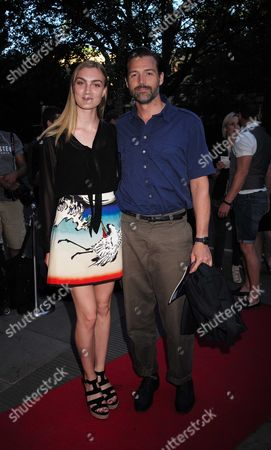 Stock Picture of 19 07 15 Matthew Bourne's the Car Man Gala Performance at Sadler's Wells Theatre Rosebery Ave London Eloise Showering and Patrick Grant