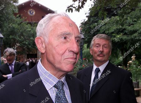 Memorial Service For Michael Williams at St Pauls Church Covent Garden Nigel Hawthorne with His Partner Trevor